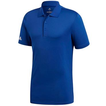 Adidas Gents Performance Polo Shirt Royal