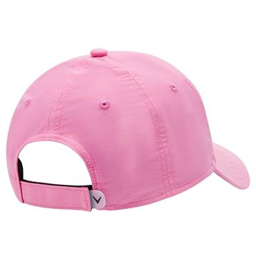 Callaway Ladies Front Crested Baseball Cap Pink