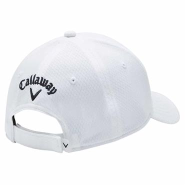 Callaway Ladies Front Crested Baseball Cap White CGAS90T5