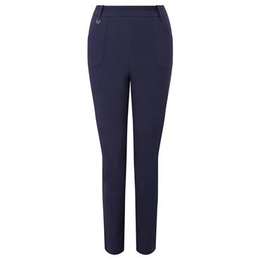 Callaway Ladies Tech Stretch Solid Trousers Peacoat