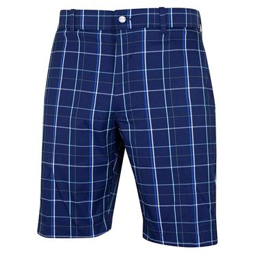 Callaway Gents Fashion Plaid Shorts Blue