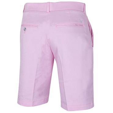 Callaway Gents FF Oxford Shorts Pink