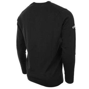 Callaway Gents Merino High V-Neck Sweater Anthracite