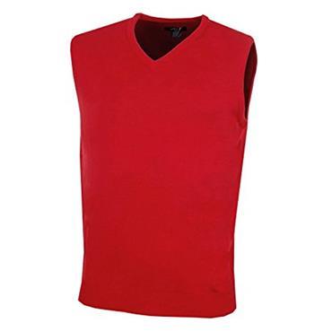 Callaway Gents Merino V-Neck Sweater Vest Tango Red