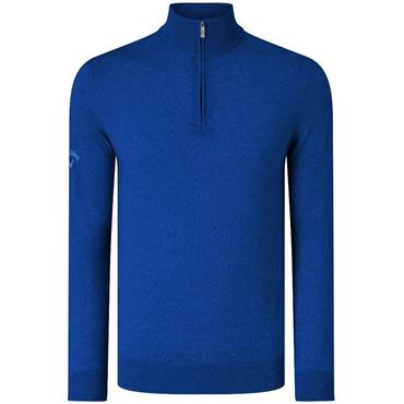Callaway Gents Ribbed Merino 1/4 Zip Sweater Surf the Web