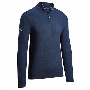 Callaway Gents ¼ Zip Merino Sweater Navy