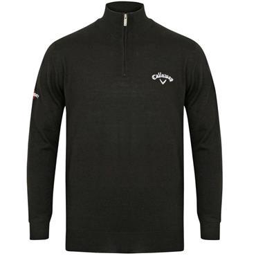 Callaway Gents 1/4 Zip Sweater Black