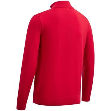Callaway Gents 1/4 Zip Blended Merino Sweater Lychee