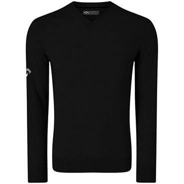 Callaway Gents V-Neck Blended Merino Sweater Black