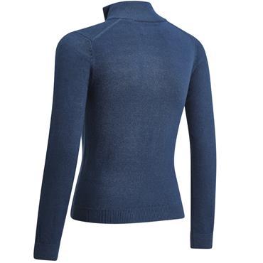 Junior Boys 1/4 Zip Sweater Blue