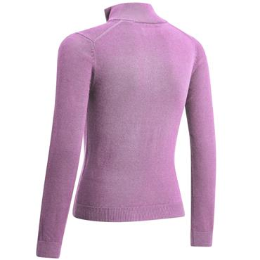 Junior Boys 1/4 Zip Sweater Lilac