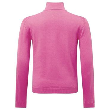 Callaway Junior - Boys 1/4 Zip Sweater Pink