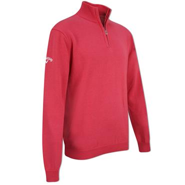 Callaway Junior - Boys 1/4 Zip Sweater Claret