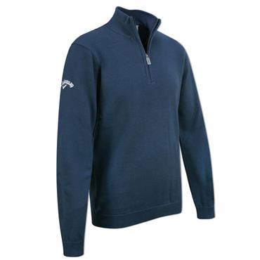 Callaway Junior - Boys 1/4 Zip Sweater Insignia Blue