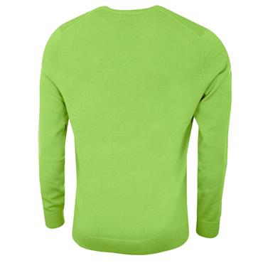 Callaway Gents Long Sleeve V-Neck Merino Sweater Jade