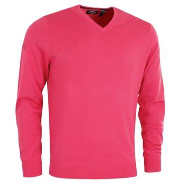 cebed8e93cf1 Callaway Gents Long Sleeve V-Neck Merino Sweater Raspberry ...