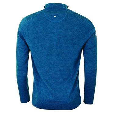 Callaway Gents Long Sleeve ¼ Zip Merino Sweater Blue
