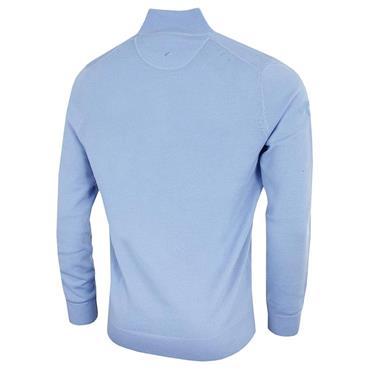 Callaway Gents Long Sleeve ¼ Zip Merino Sweater Chambray
