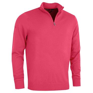 Callaway Gents Long Sleeve 1/4 Zip Merino Sweater Raspberry