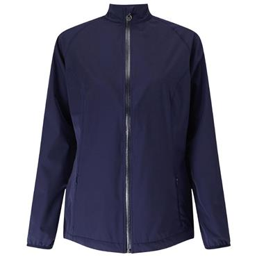 Callaway Ladies Full Zip Wind Jacket Peacoat