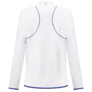 Callaway Ladies Water-Resistant Color Block Jacket White
