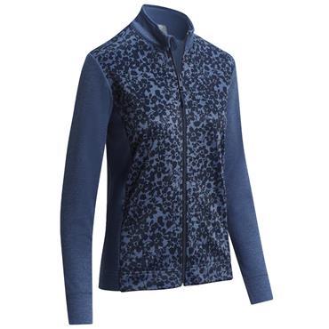 Callaway Ladies Floral Fleece Jacket Peacoat