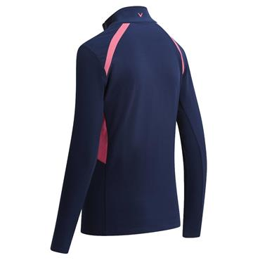 Callaway Ladies Panelled Fleece Jacket Peacoat