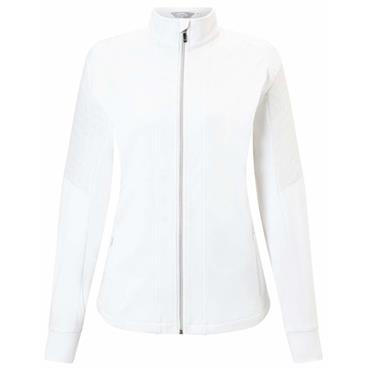 Callaway Ladies Mixed Media Jacket Bright White
