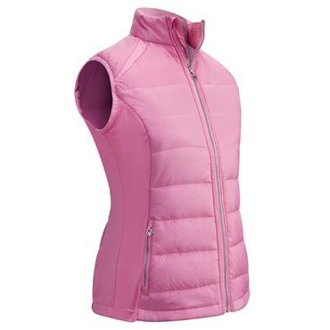 Callaway Ladies Swing Tech Puffer Vest Pink