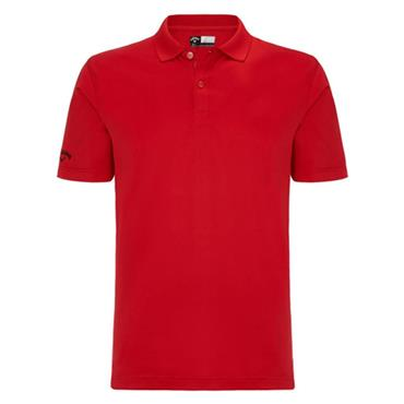 Callaway Gents Opti-Dri Polo Shirt Tango Red