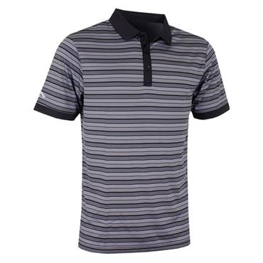 Callaway Gents Opti-Dri Multi-Striped Polo Shirt Caviar