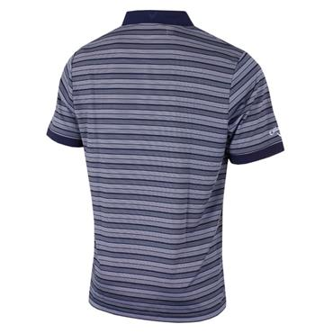 Callaway Gents Opti-Dri Multi-Striped Polo Shirt Peacoat