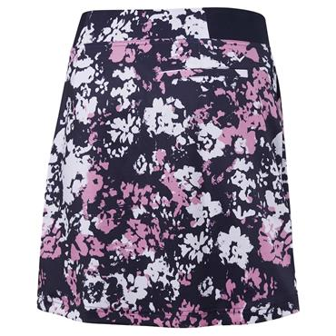 Callaway Ladies Floral Camo Stretch Skort Peacoat