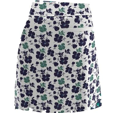 Callaway Ladies Flower Print Skort White