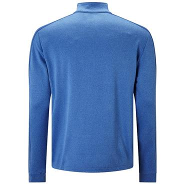 Callaway Gents 1/4 Zip Waflle Fleece Top Cobalt