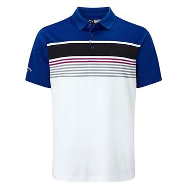 Callaway Gents Roadmap Striped Engineered Polo Shirt Surf The Web