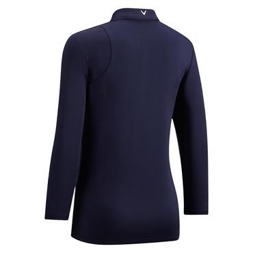 Callaway Ladies Swing Tech 3/4 Sleeve Polo Shirt Peacoat