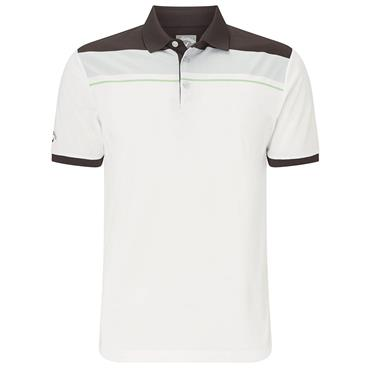 Callaway Gents Geo Block Polo Shirt Caviar