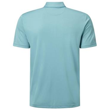 Callaway Gents Blocked Birdseye Polo Shirt Blue