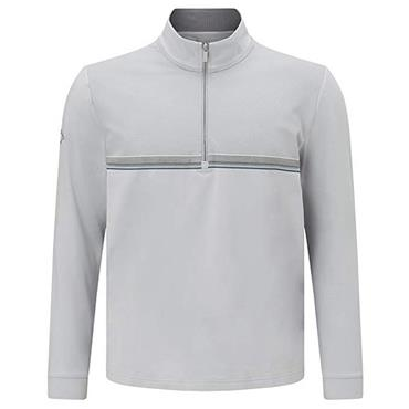 Callaway Gents 1/4 Print Chill Out 1/4 Zip Sweater Pearl Blue