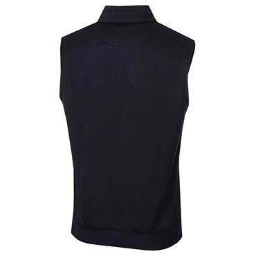 Callaway Gents Water Repellent ¼ Zip Vest Caviar