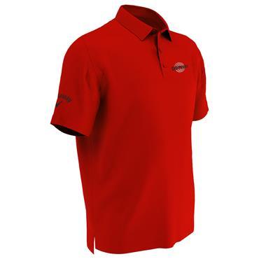 Callaway Gents Tournament OdysseyPolo Shirt Red