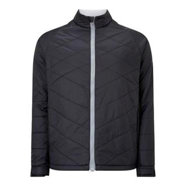 Callaway Gents Quilted Chev Puffer Jacket Caviar