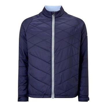 Callaway Gents Quilted Chev Puffer Jacket Peacoat