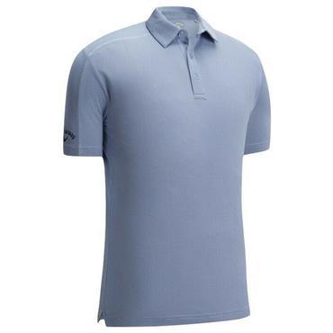 Callaway Gents Box Jacquard Polo Shirt Brunnera Blue