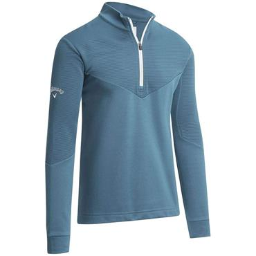 Callaway Gents 1/4 Zip Ottoman Fleece Sweater Infinity