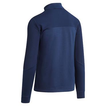Callaway Gents 1/4 Zip Ottoman Fleece Sweater Peacoat