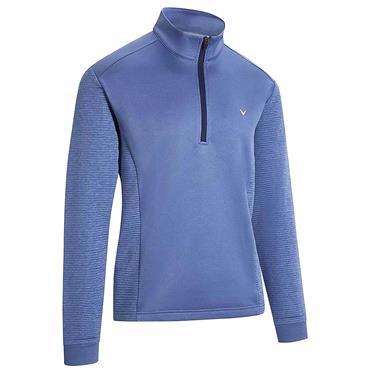 Callaway Gents ¼ Zip Ottoman Fleece Blue