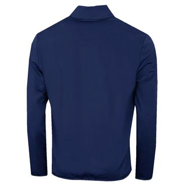 Callaway Gents Herringbone 1/4 Zip Top Medieval Blue 478