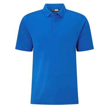 Callaway Gents Hex Opti-Dri Stretch Polo Shirt Magnetic Blue